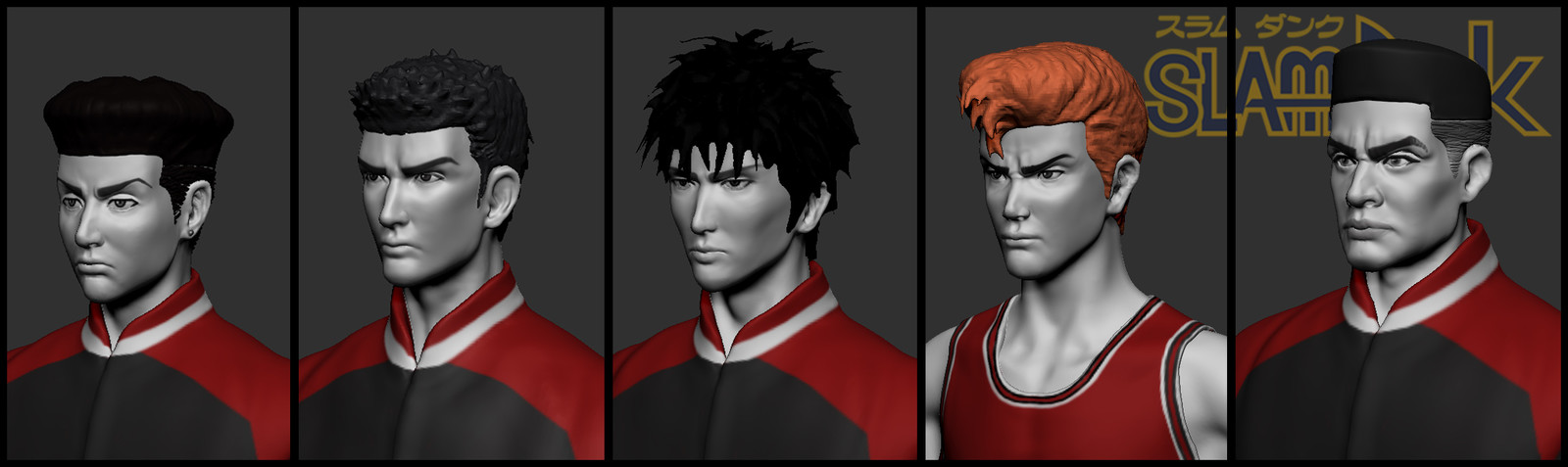 Slam Dunk Anime Quicksculpts