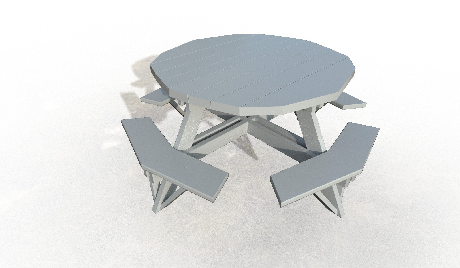 Matthew Stone Picnic Table To Be Or Not To Be Broken - Stone picnic table