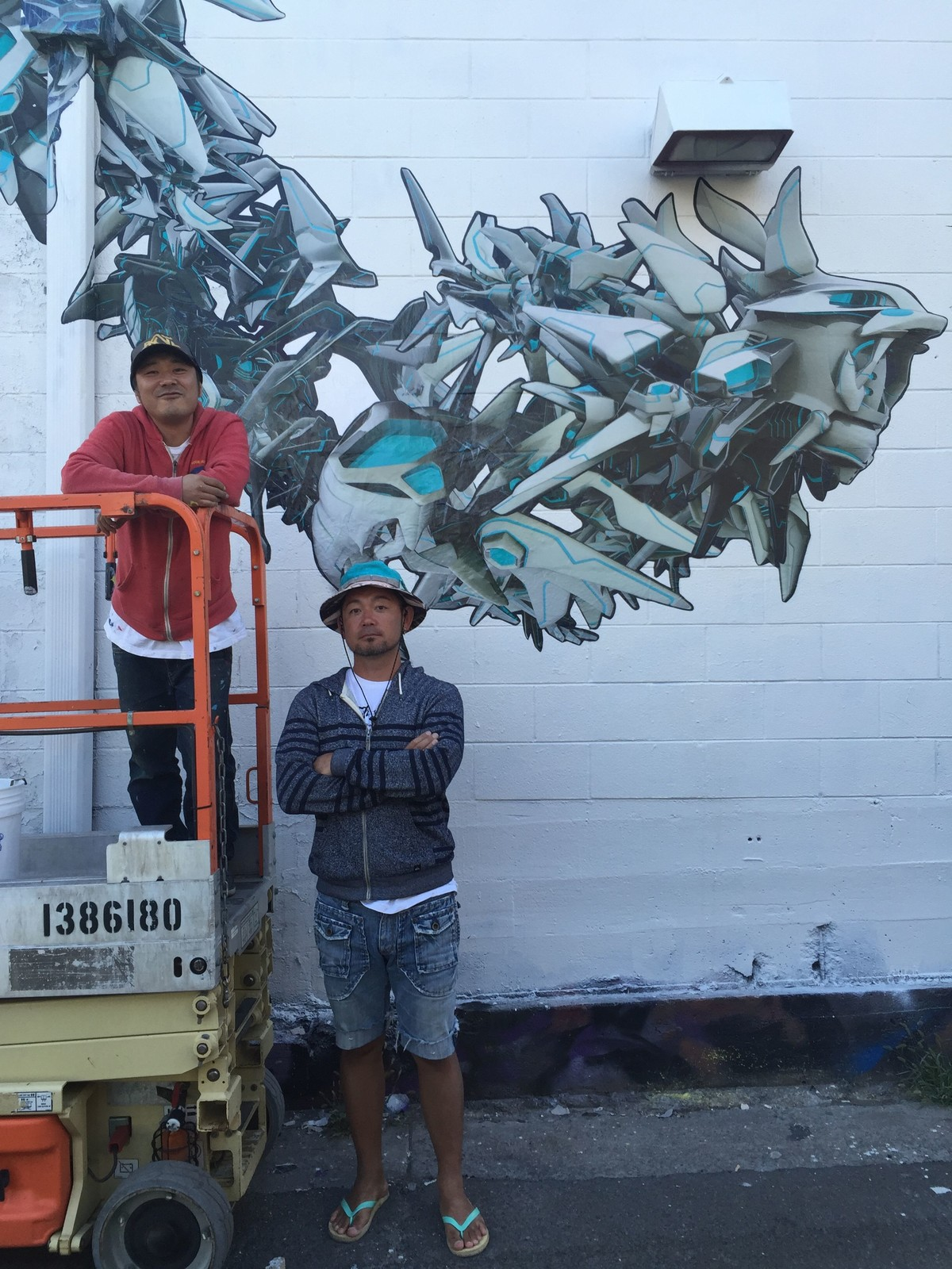 XSENSE mural
