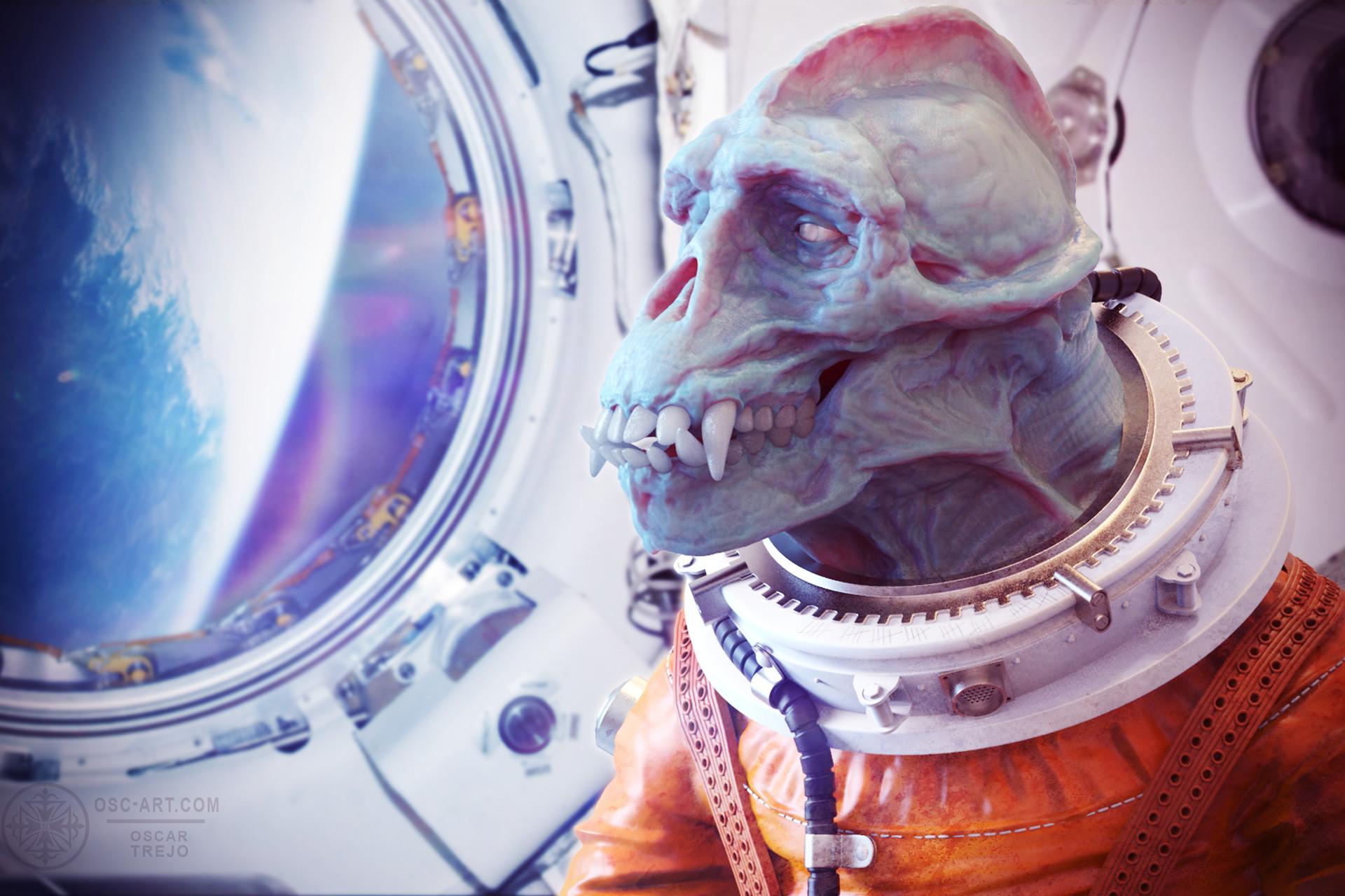Oscar trejo space ape4