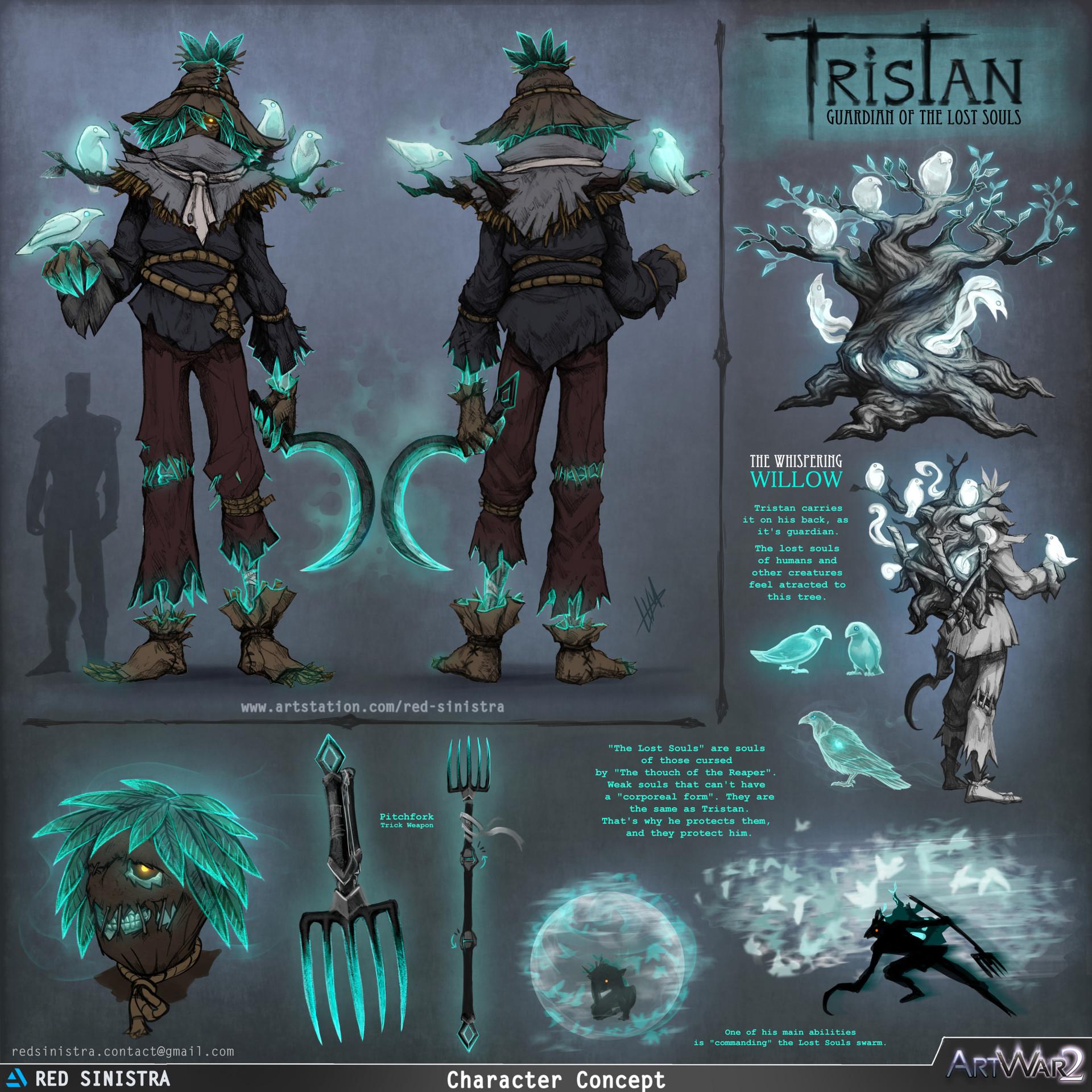 ArtStation - ART WAR 2 : Tristan, the Guardian of Lost Souls, Helena
