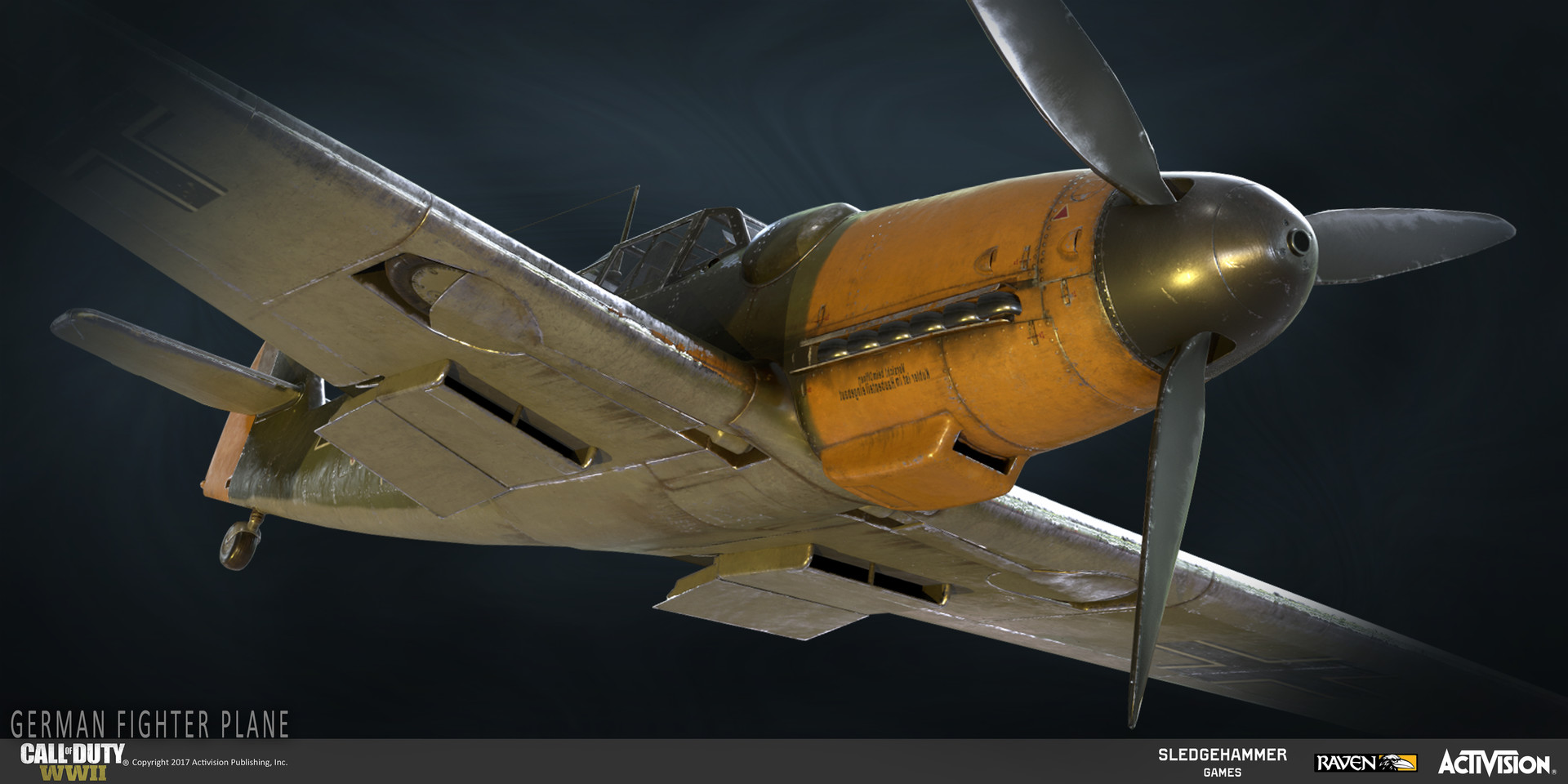 Katie Sabin - Call of Duty: World War II | German Fighter Plane