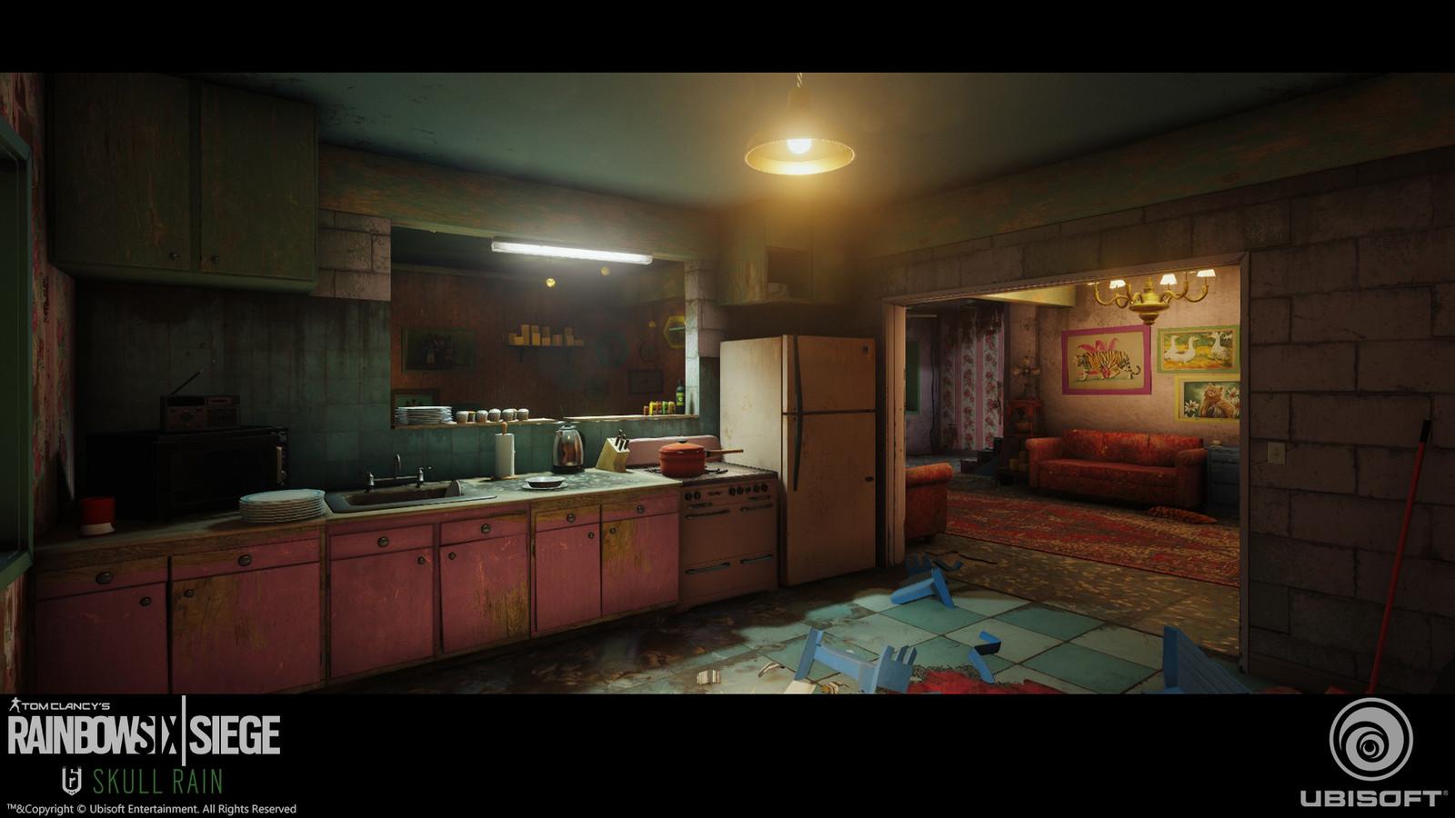 Wall ceramics tile, Floor tile and wallpaper texture in game screen