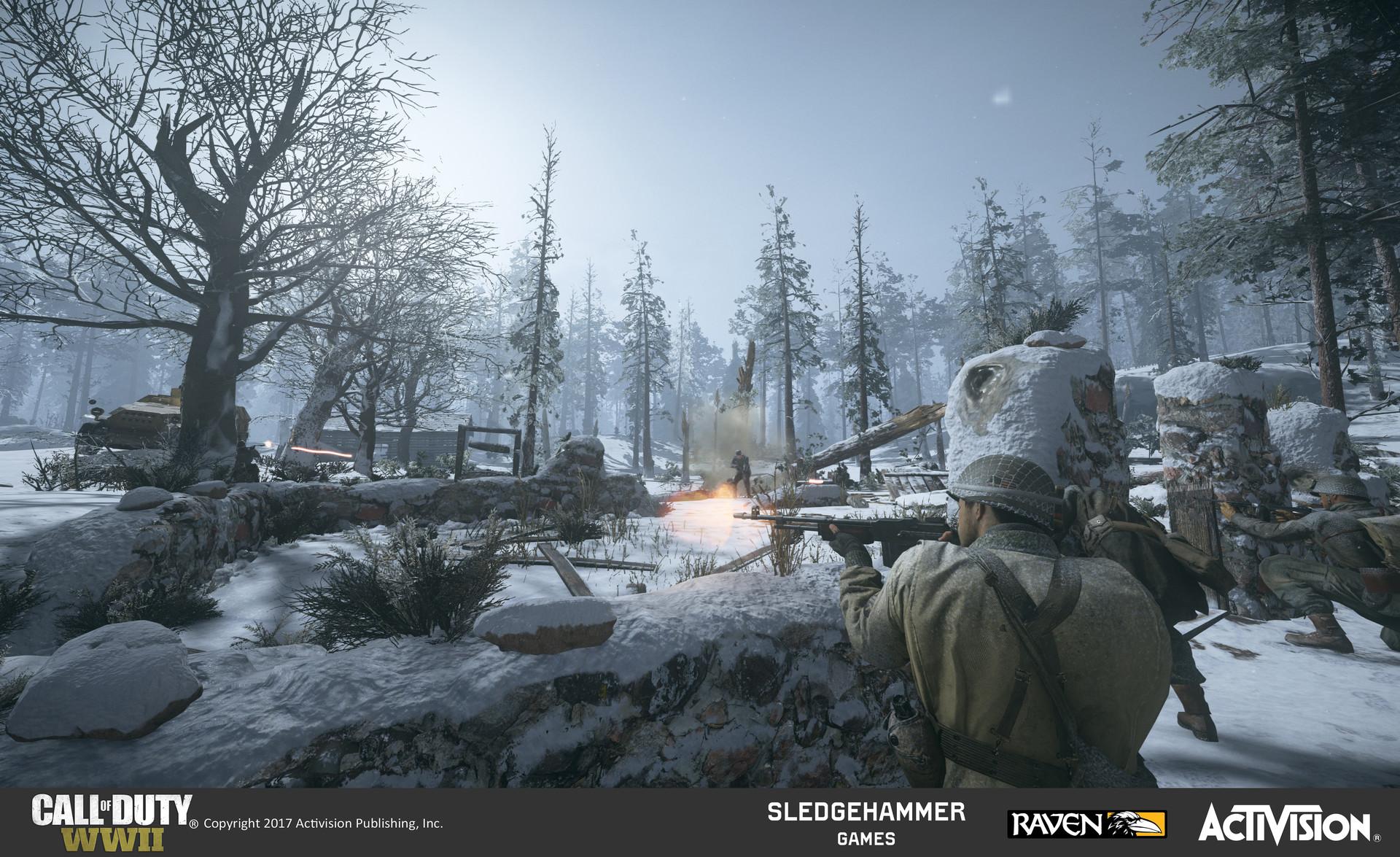 ArtStation - Call of Duty: WWII, Tim Yen