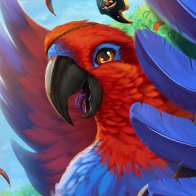Davi hammer voa papagaio high