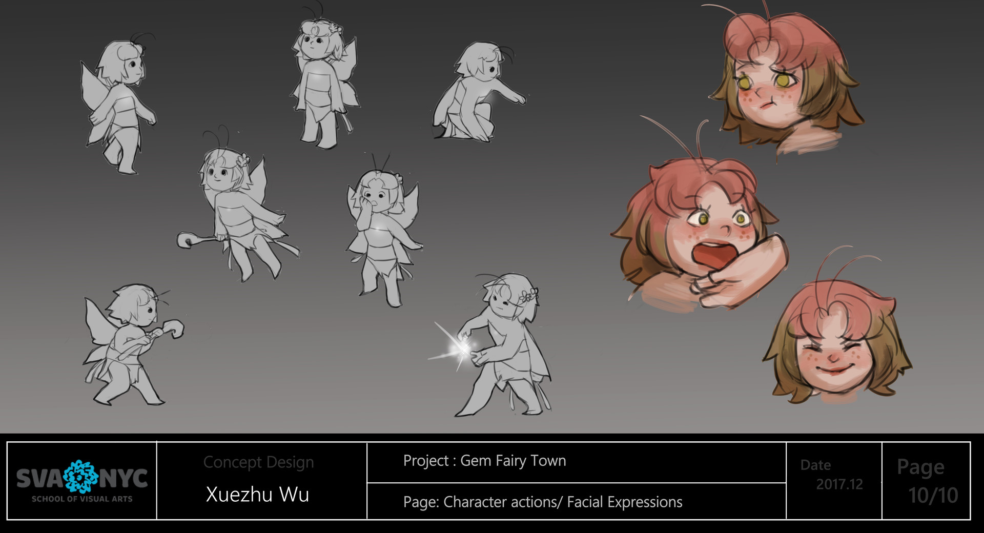 Animation Character Design Portfolio : Art of celine kim portfolio character inspirati