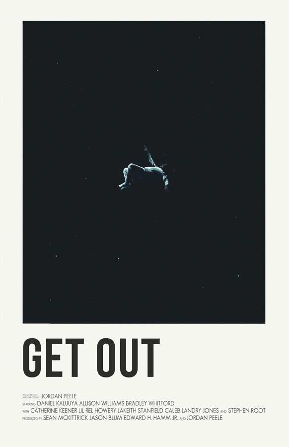 Andrew sebastian kwan get out poster 11x17