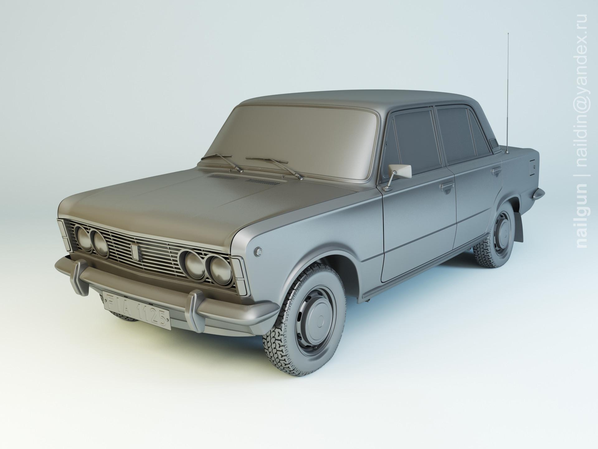 Nail khusnutdinov als 165 001 fiat 125p modelling 0