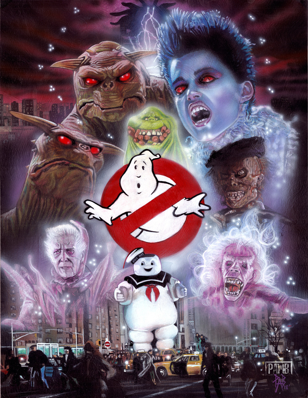 Artstation Ghostbusters 1984 Creatures Paul Butcher