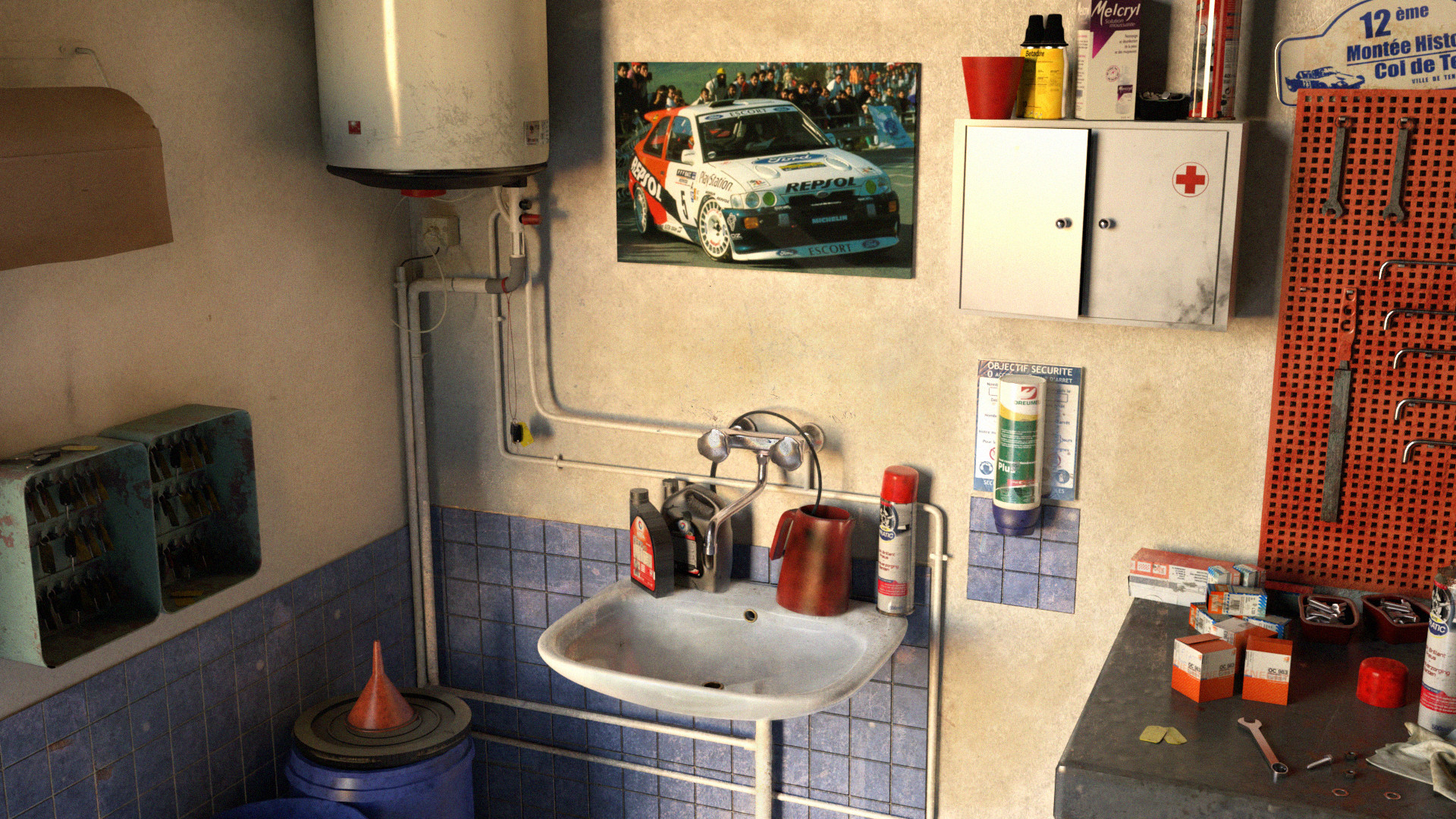 Chloe Fontaine The Little Neighborhood Garage