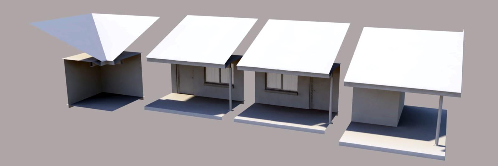 Modular Motel Pieces