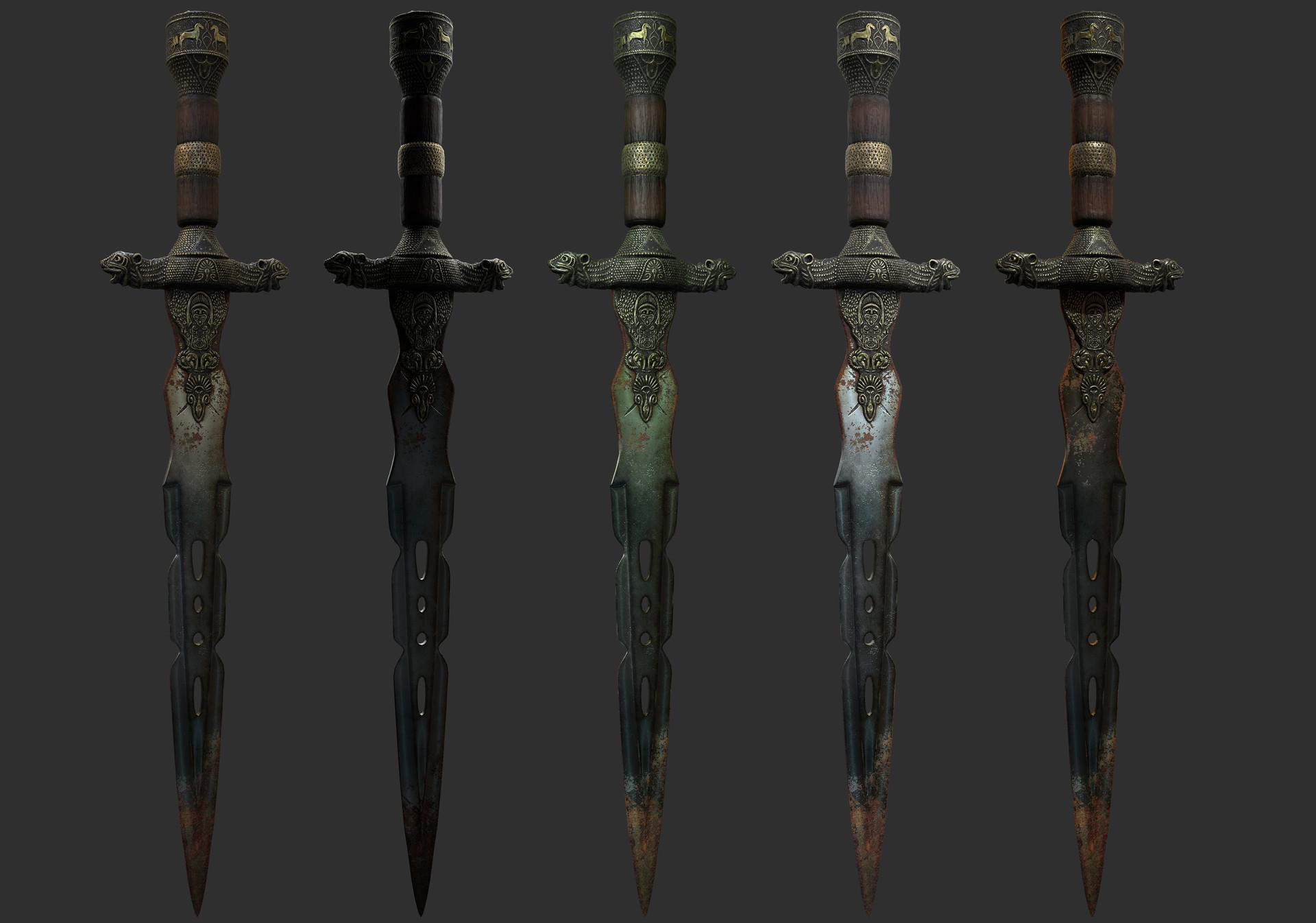 Roberto tula old dagger lighting