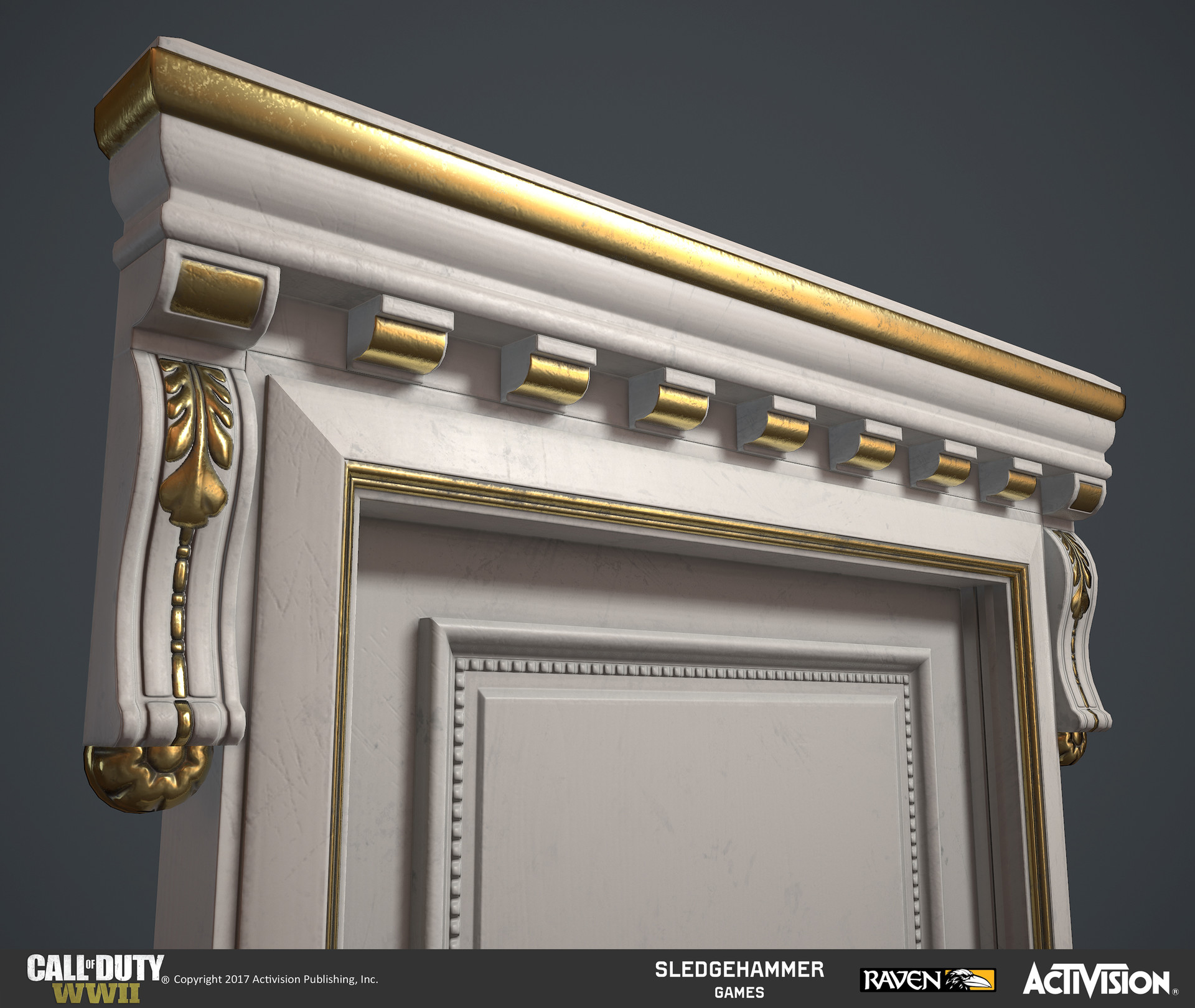 ArtStation - Call of Duty: WWII - Liberation - Paris