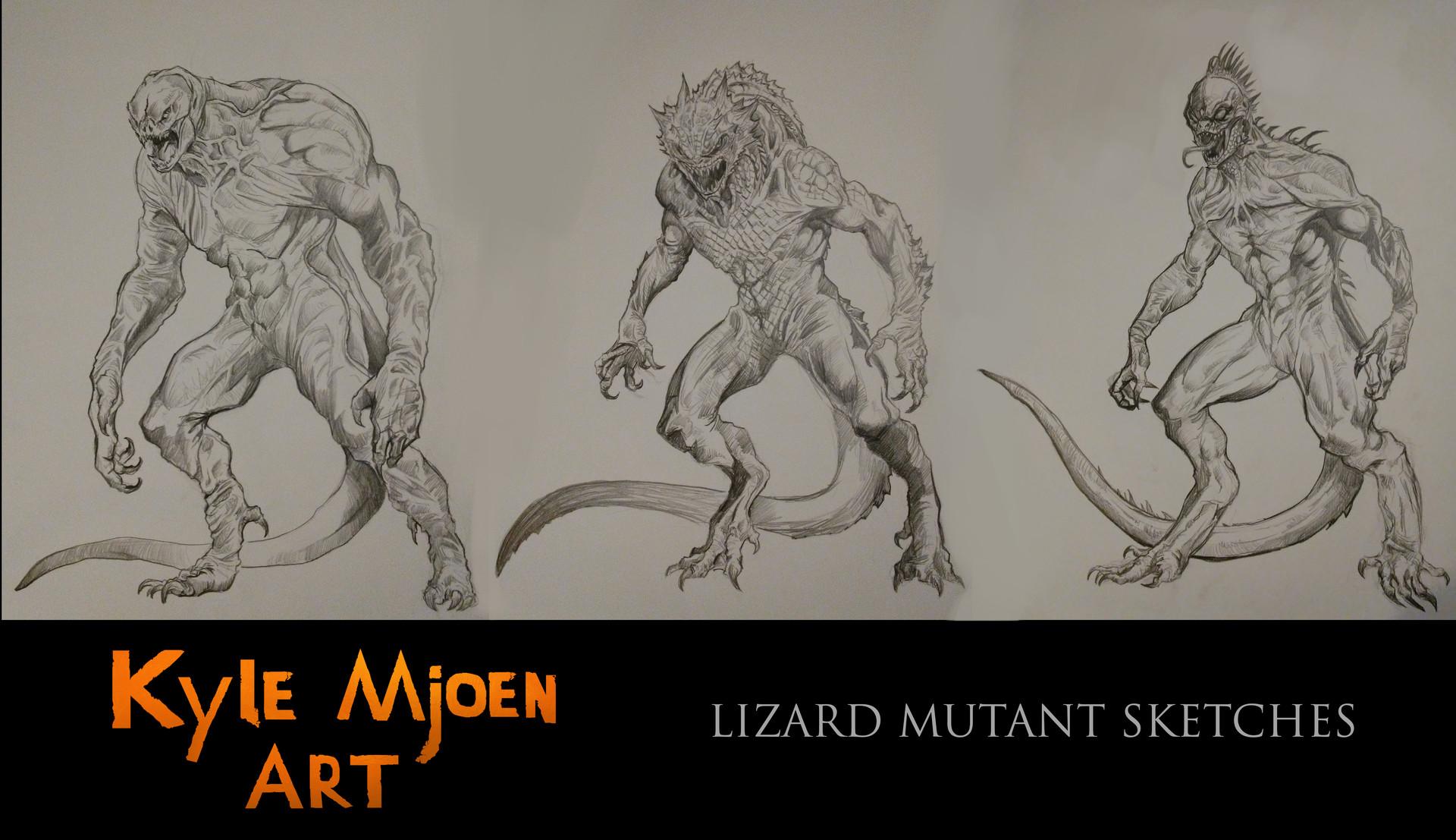 Kyle mjoen lizard mutant