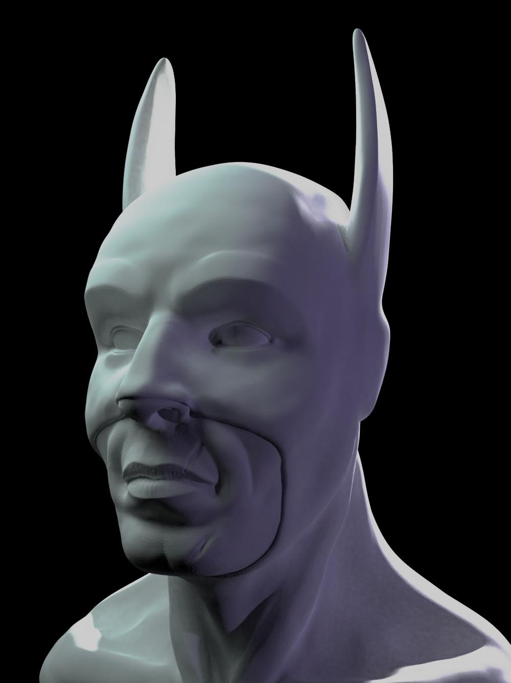 Joseph buehrer batman bust