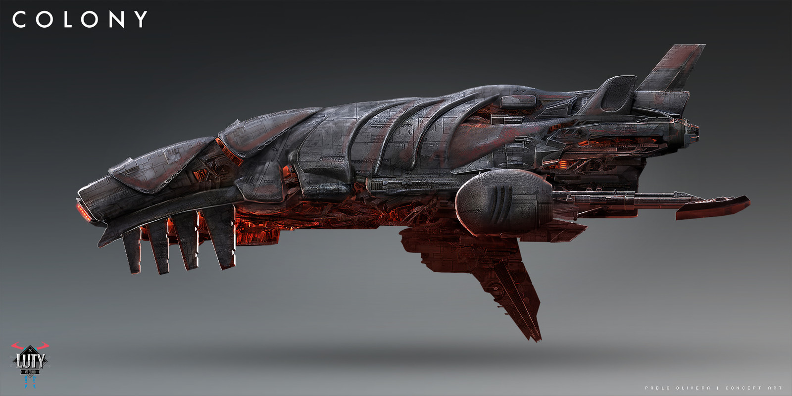 Colony   - season 2  - Spaceship Concept design