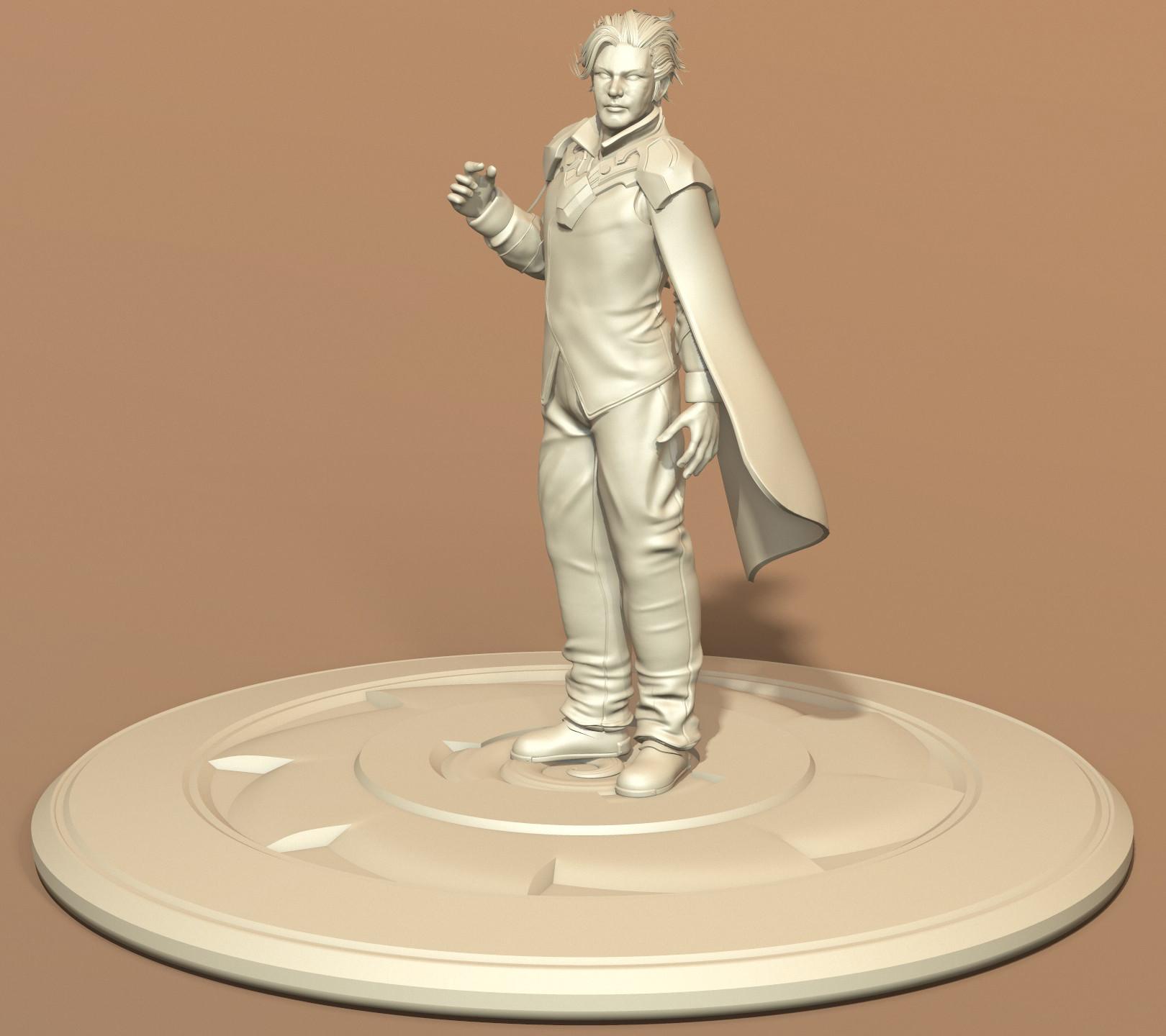 Academy Officer - Sculpt