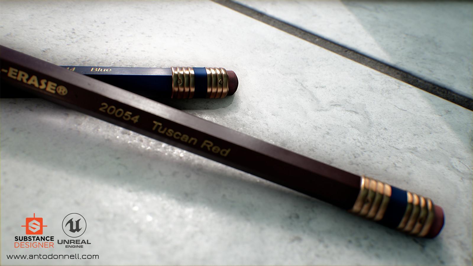 Pencil Study Shot 2