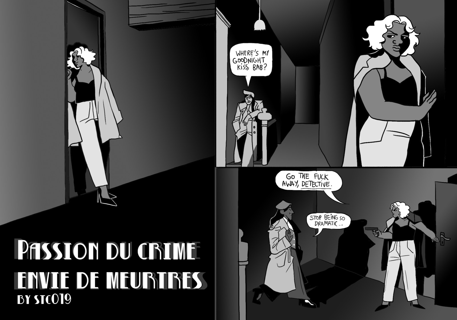 Passion du crime, Envie de meurtres (comic)