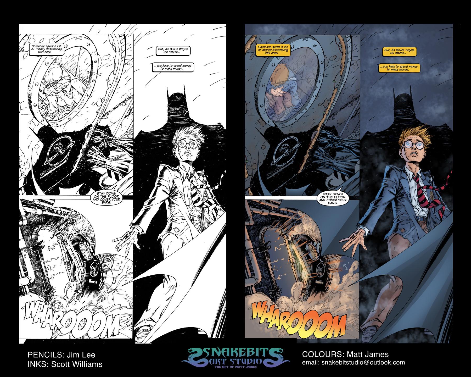 Matt james colour portfolio batman hush page 5