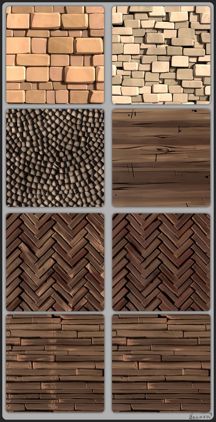 Stylized Tiles