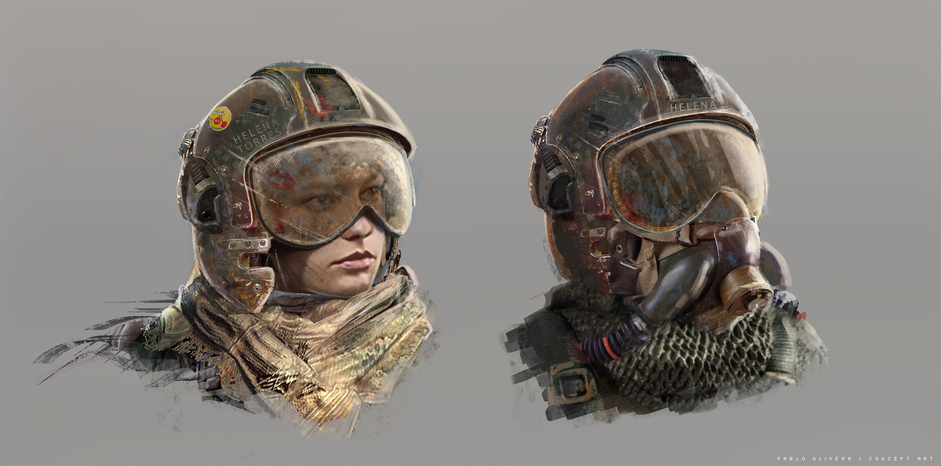Pablo olivera sons of light helmet design v01