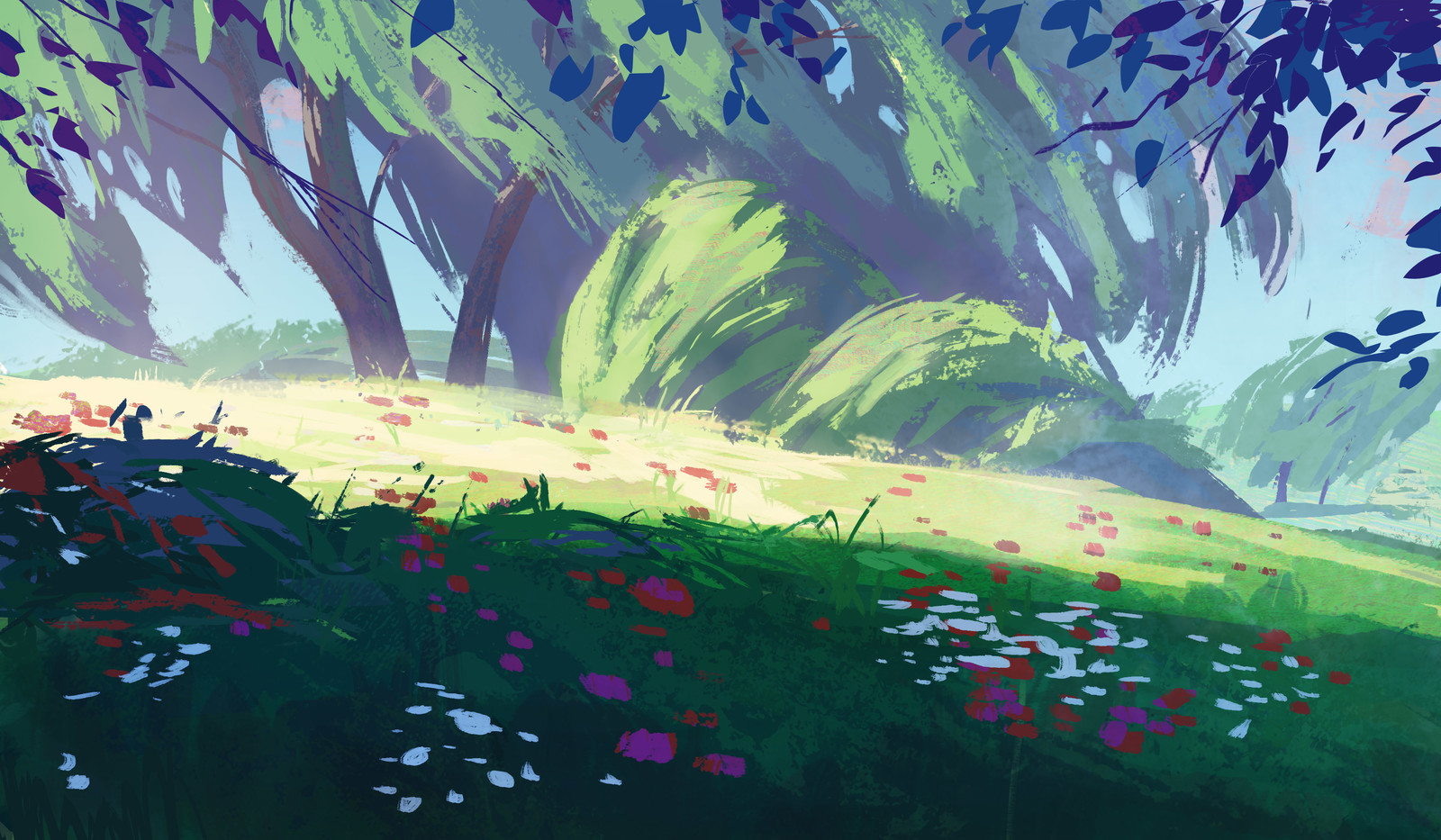 Graphic Meadow