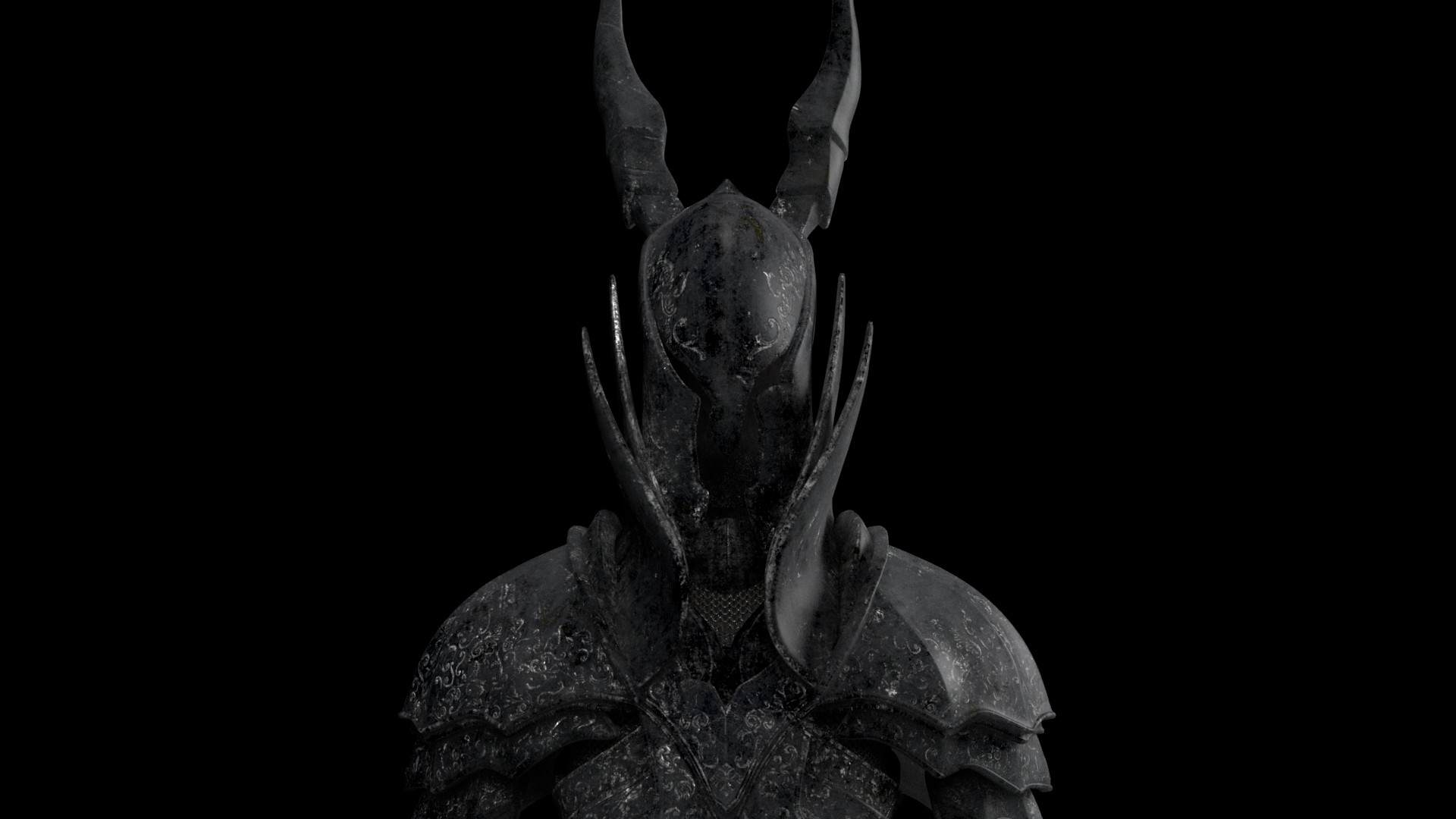 Artstation Dark Souls Black Knight Yiu Bing San
