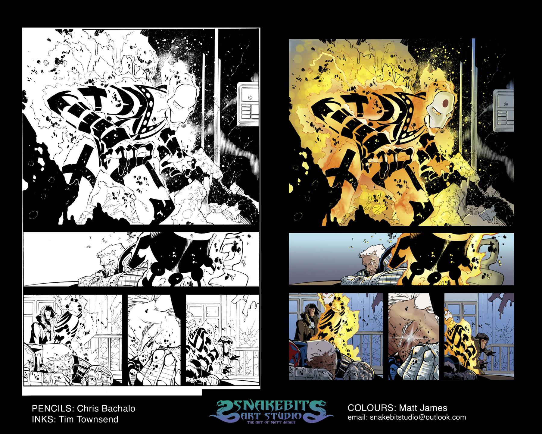 Uncanny X-Men Sample Page