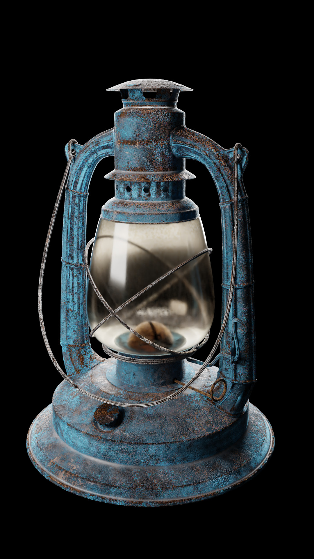 Finished result of texturing Lantern