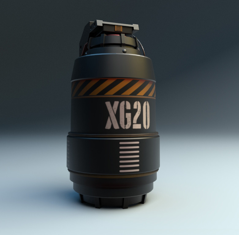 Sci Fi Grenade