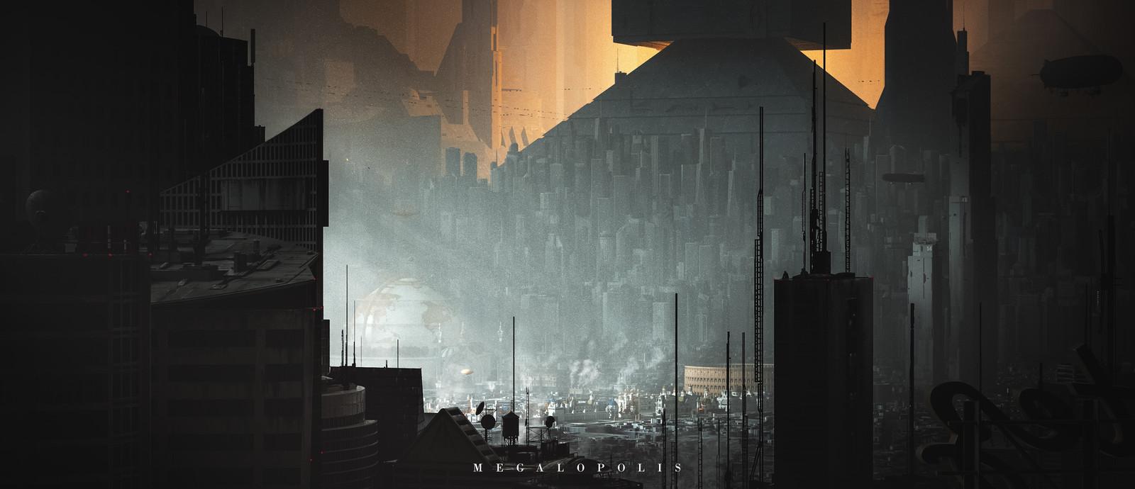 Megalopolis - Concept art I