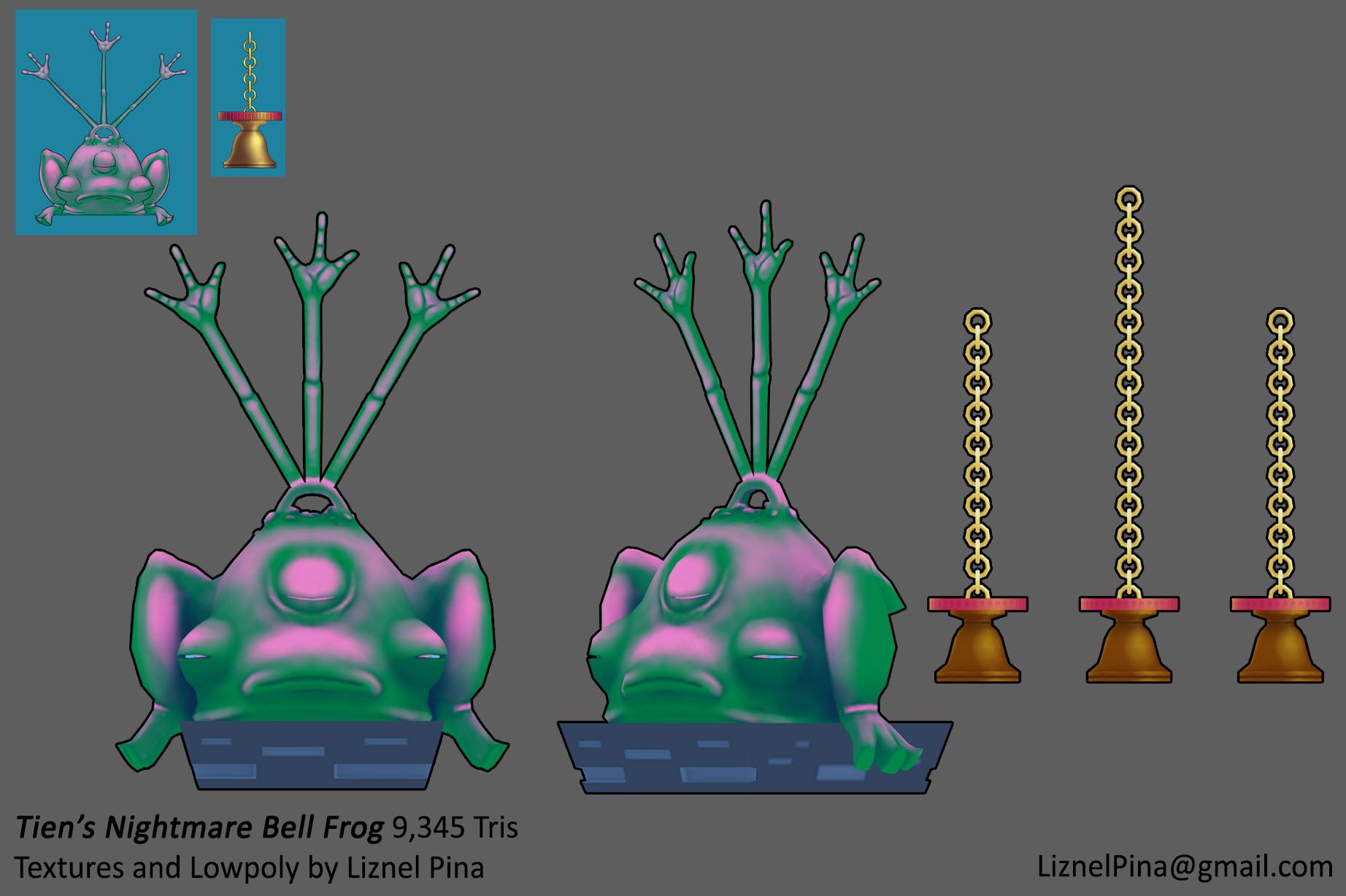Liznel pina bellfrog color