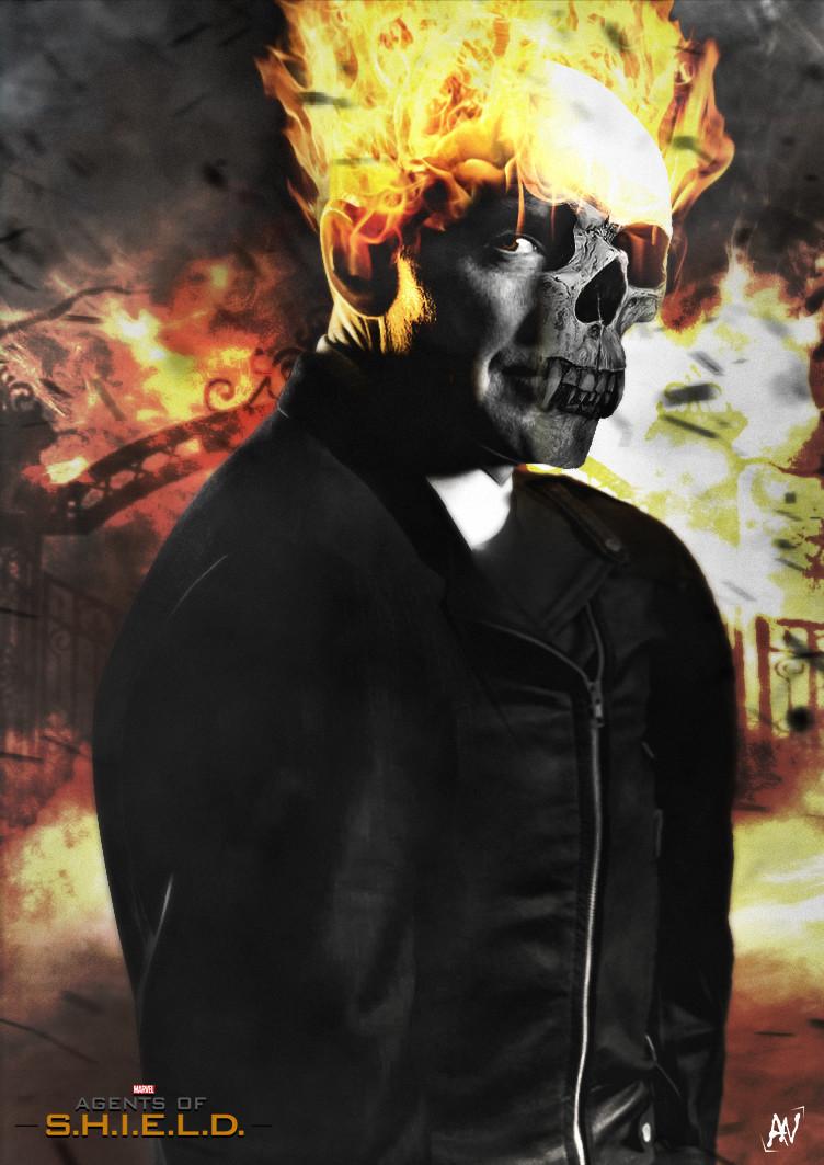 Artstation Ghost Rider Agents Of S H I E L D Anarky Design