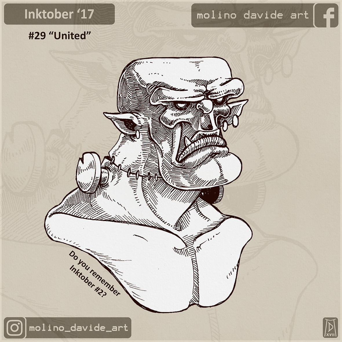 Do you remember the second inktober, right?