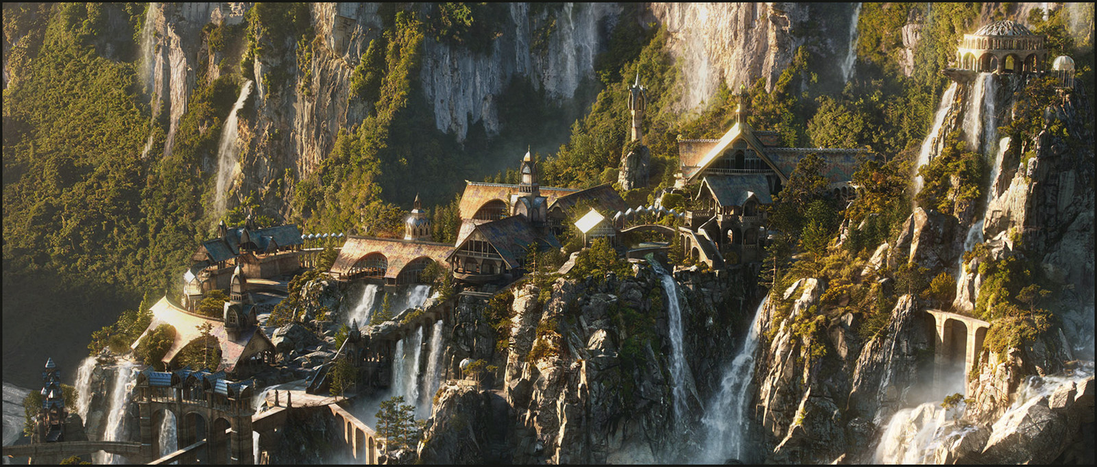The Hobbit trilogy / Arriving at Rivendell