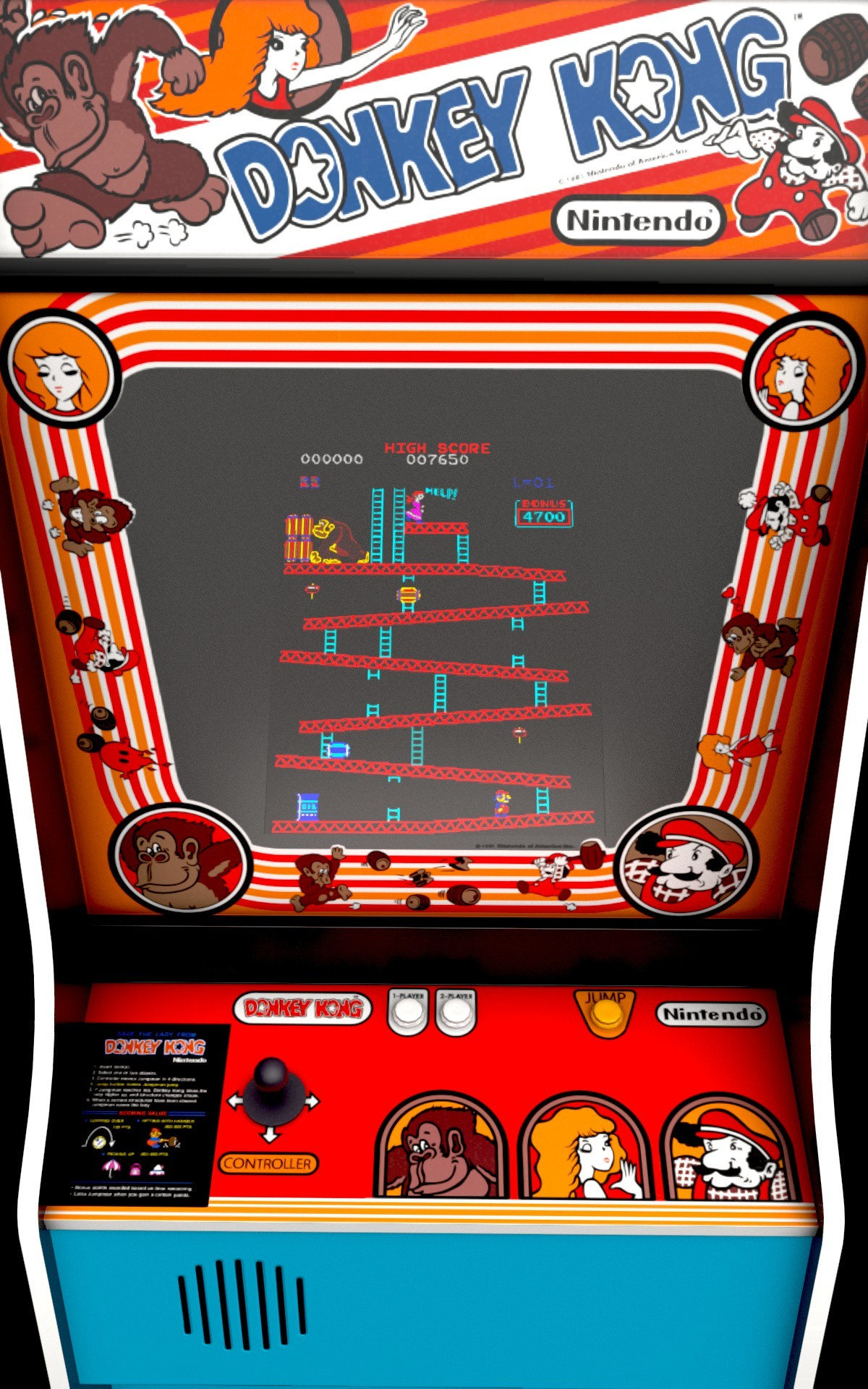 Image result for donkey kong arcade