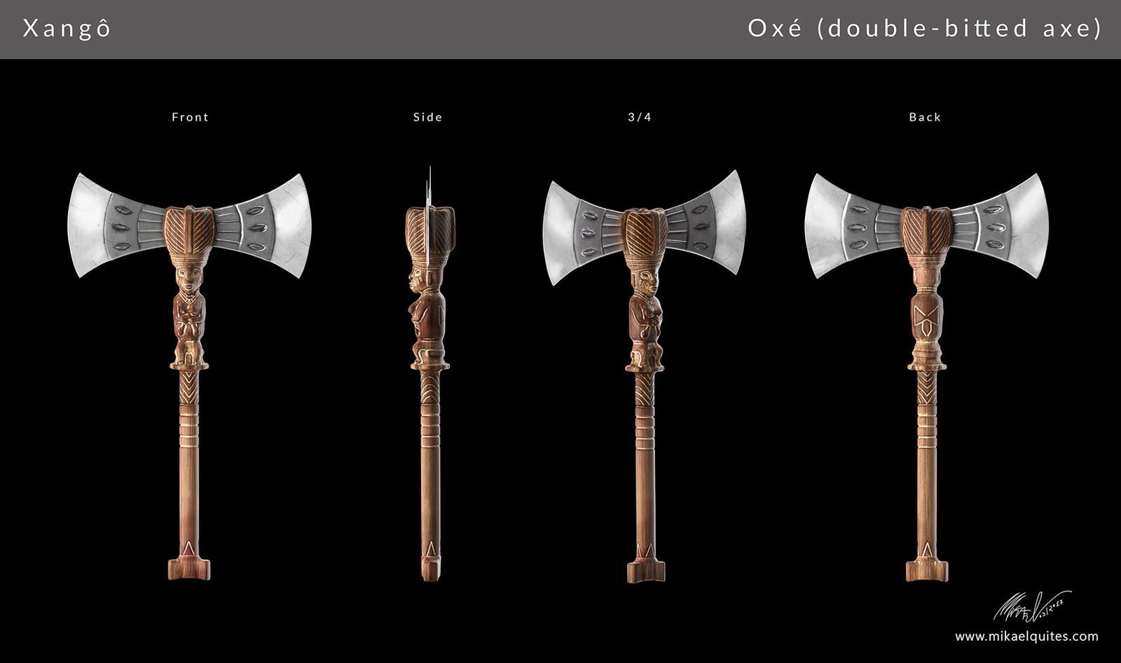 Final design of oxé