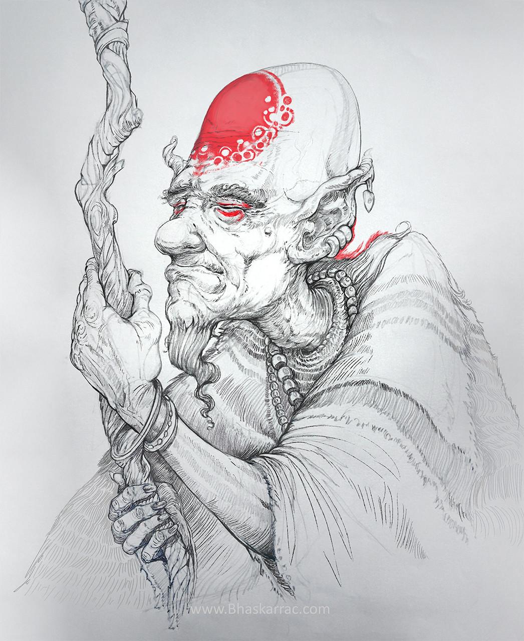 Shaman sketch