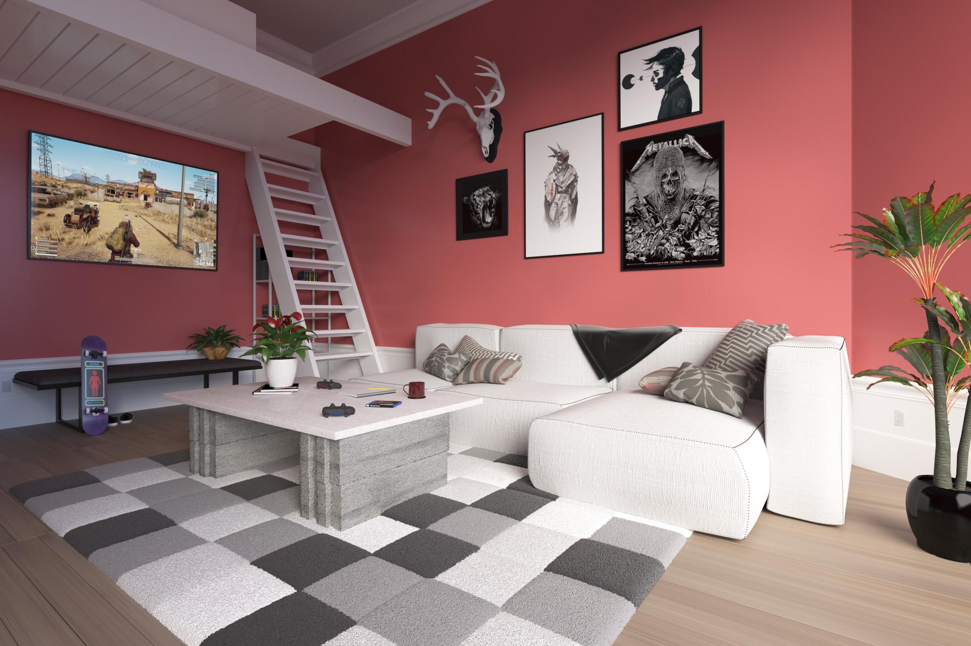 Artstation My Dream Apartment Alex Dvorak