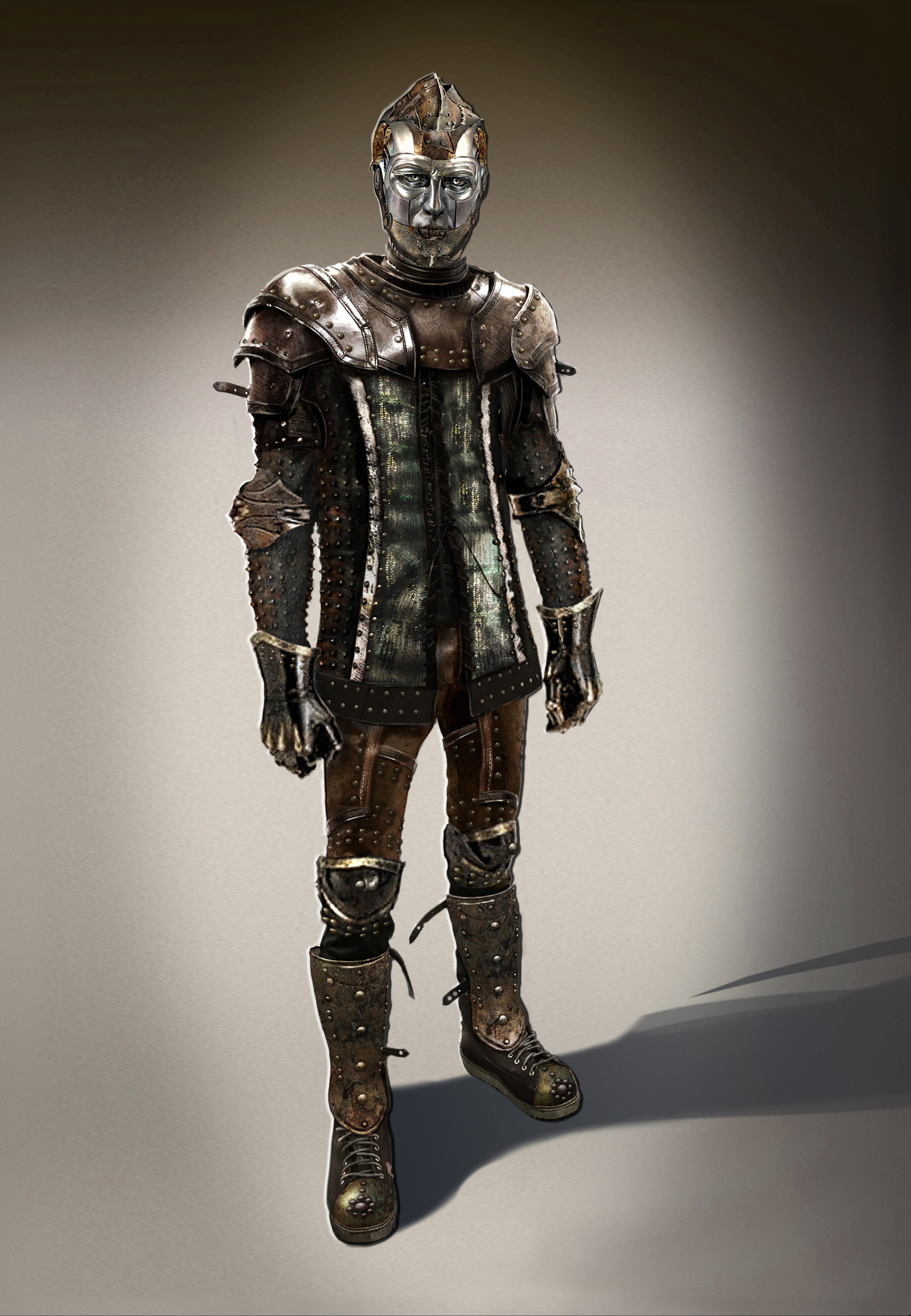TinMan Concept for  ABC's Once Upon a Time Season 6 Face by Keith Lau
