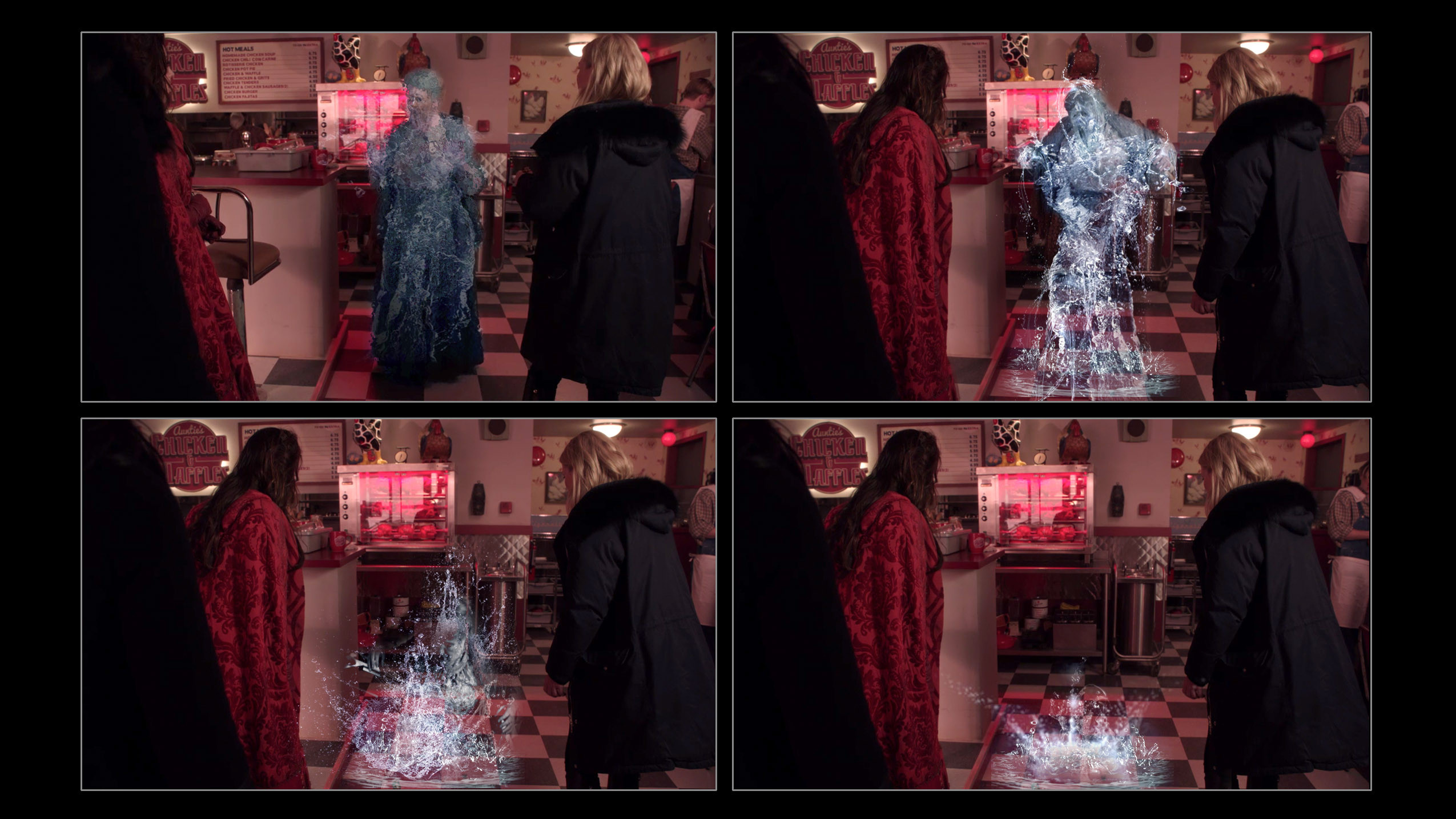 Character Liquefying Effect  / Once Upon  a Time Season 5