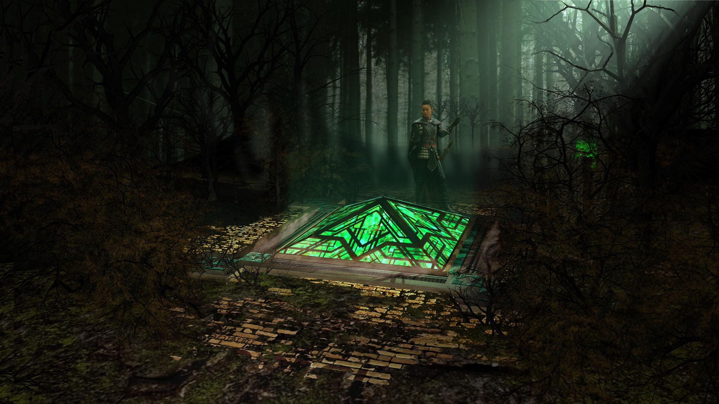 OZ Portal Concept  - Once Upon  a Time Season 5