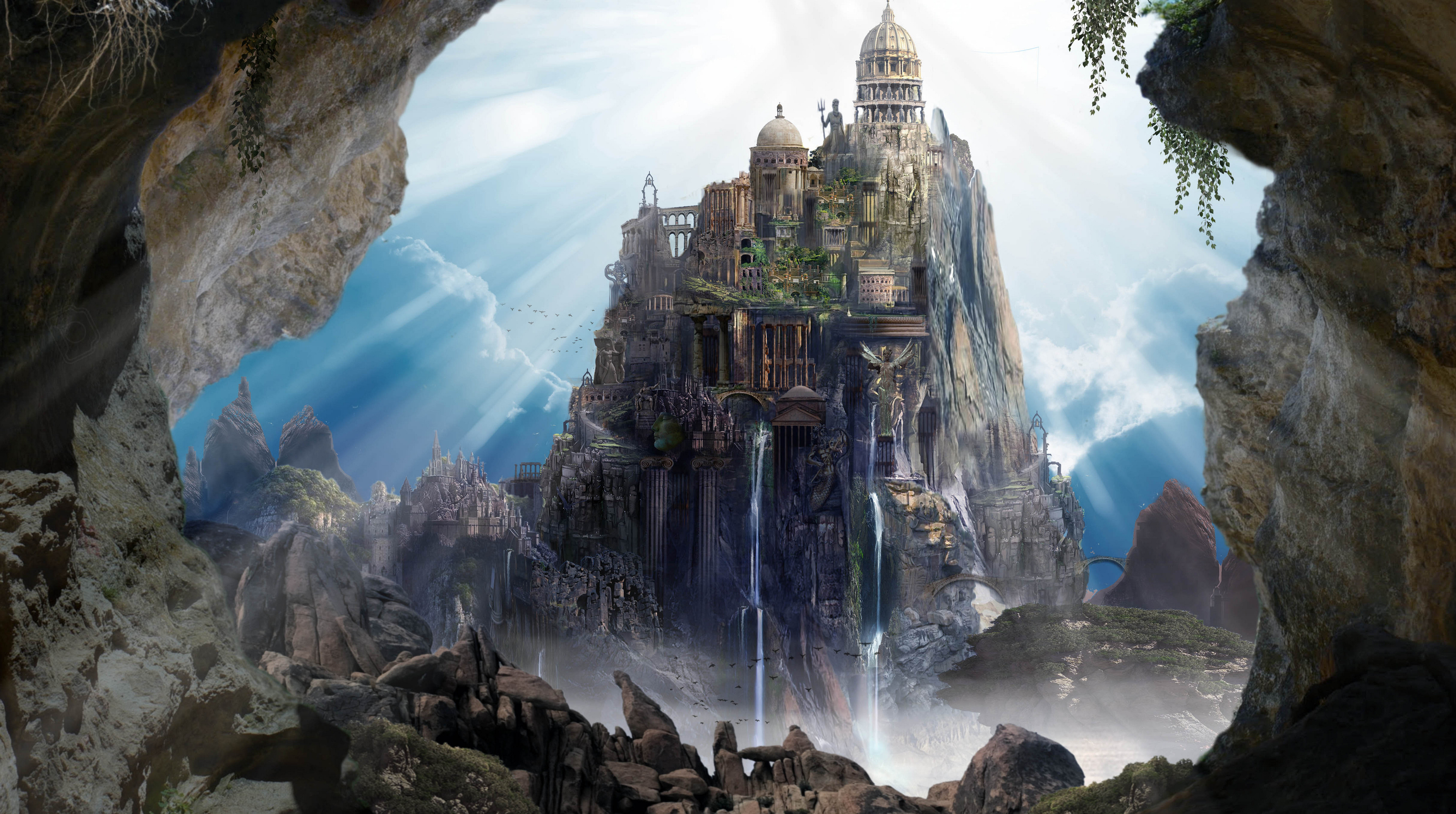Mount Olympus Pre-Concept Look - Once Upon  a Time Season 5