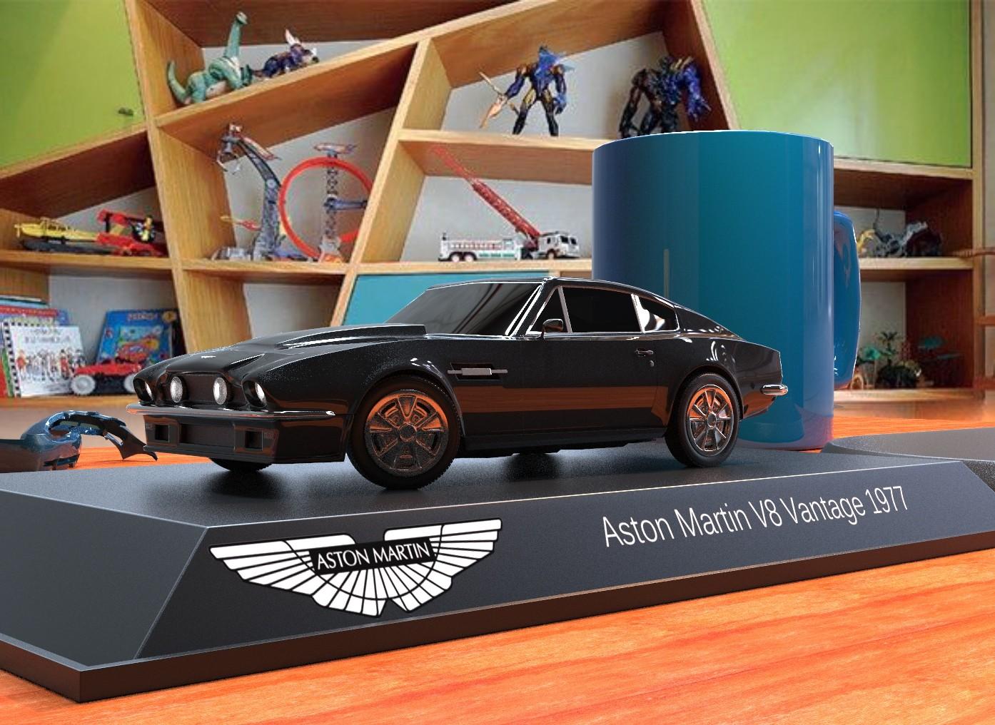 Leandro Oliveira Aston Martin V8 Vantage 1977