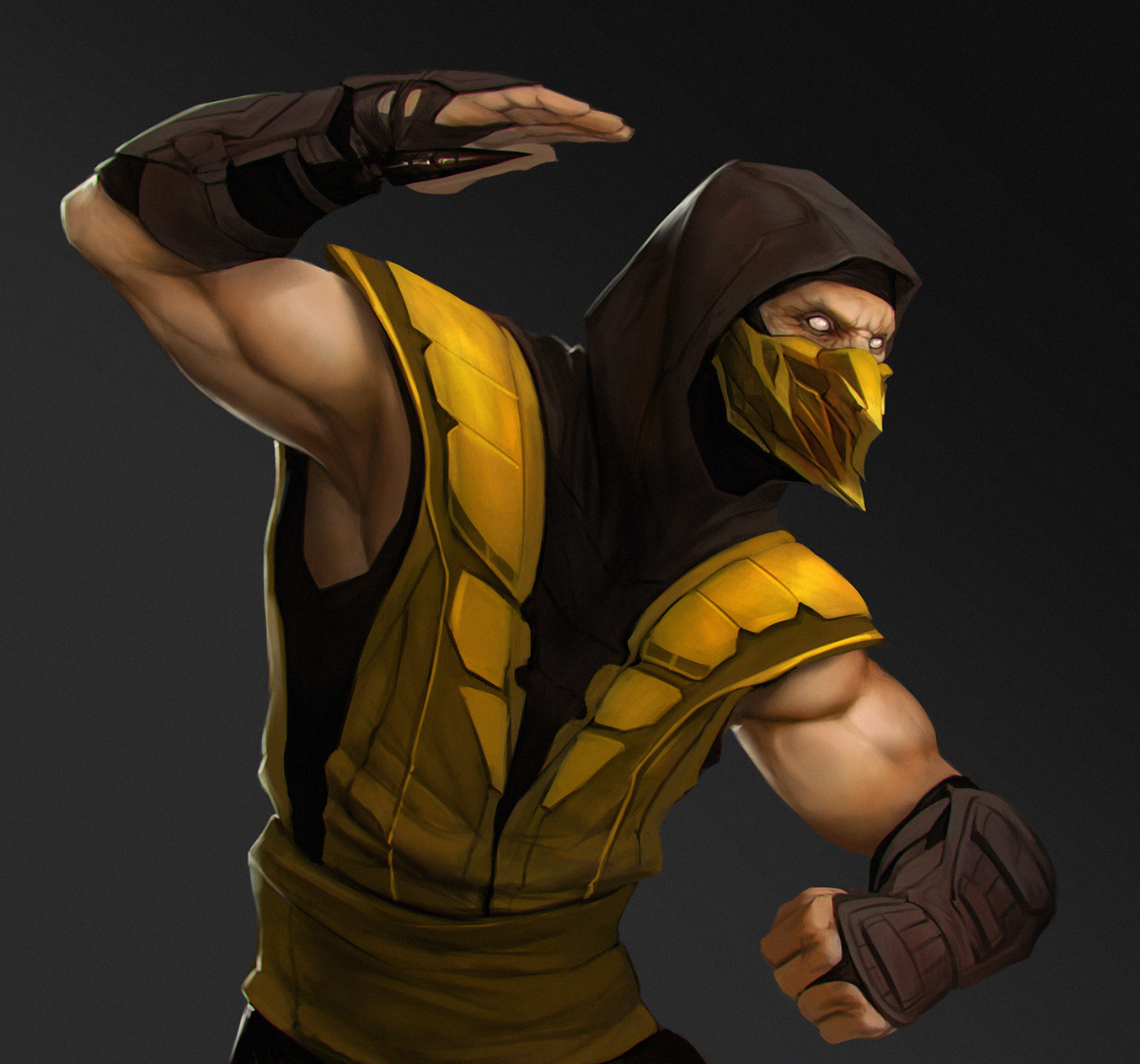 Artstation Scorpion Mortal Kombat Fan Art Jose Garcia