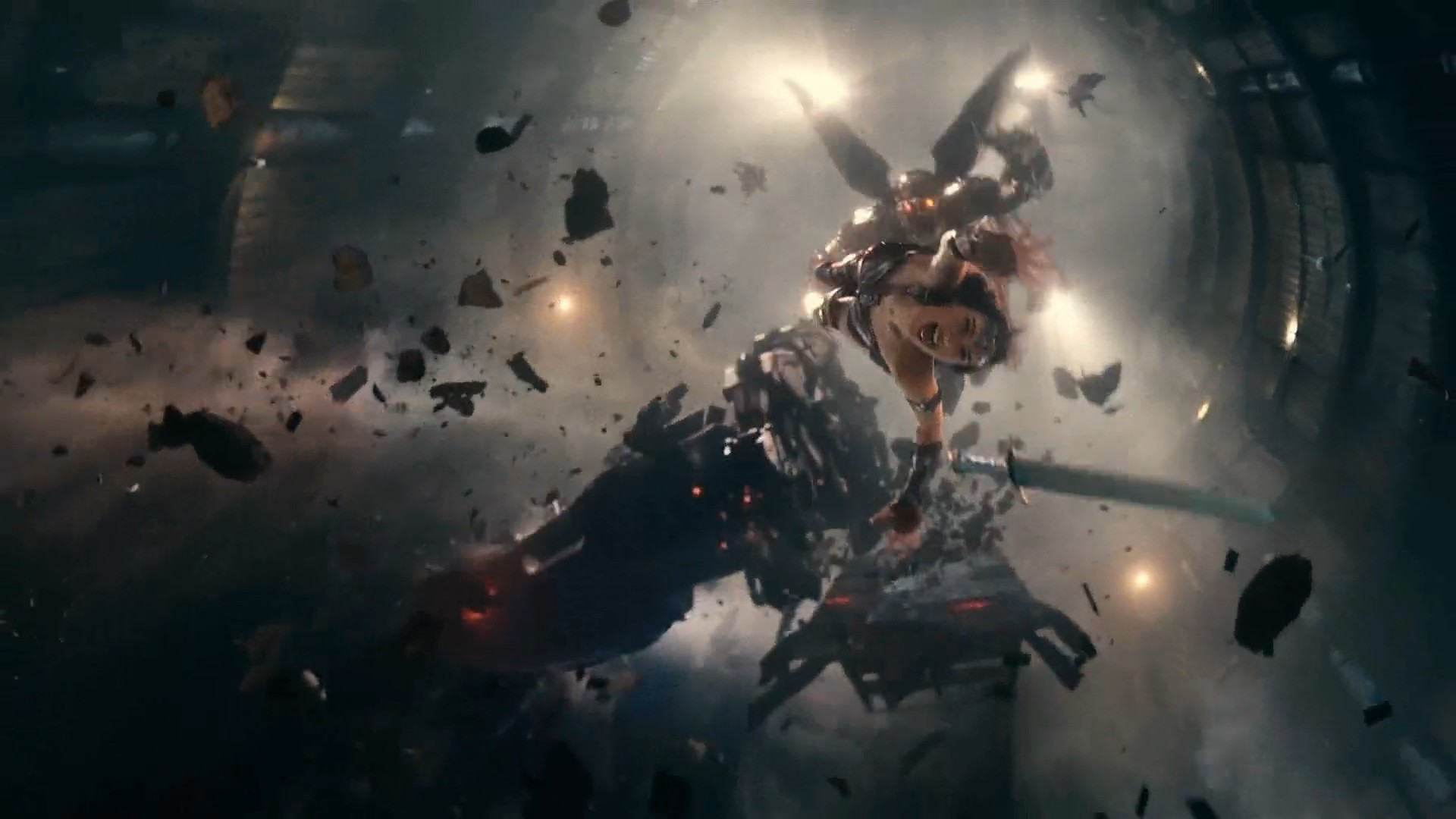 ArtStation - Justice League VFX - The Parademons (2017