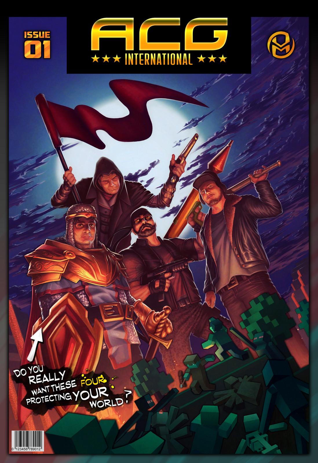 ACG International - Comic cover