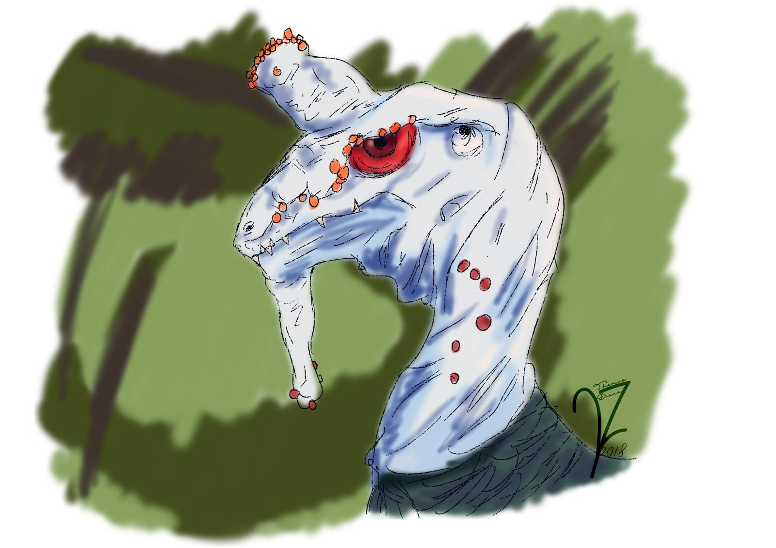 Ossified Dragon
