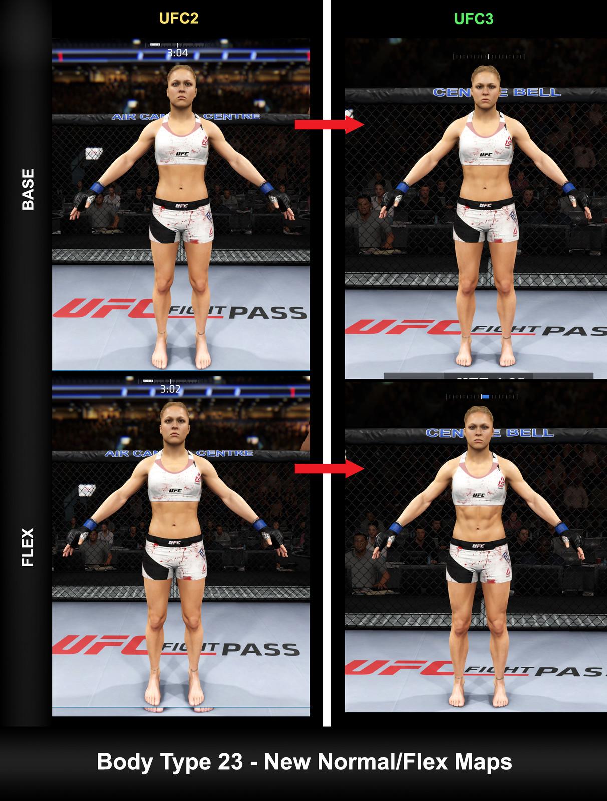 Ronda Rousey updates texture